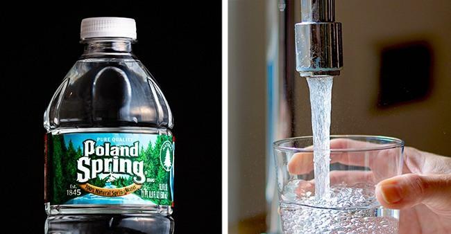 Chai nước nhựa