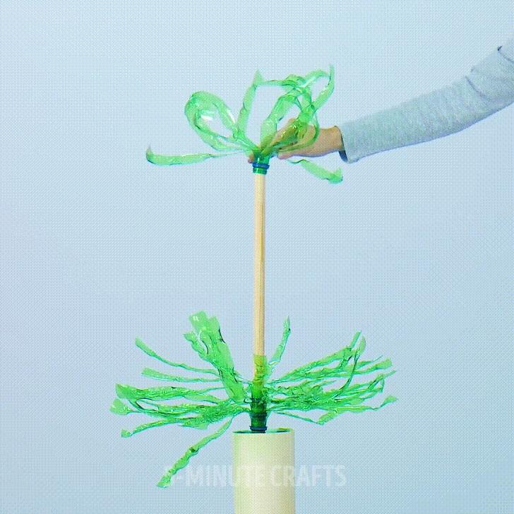 làm cây thông nhựa 5