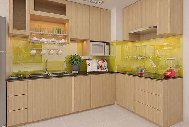 tủ bếp nhựa 2