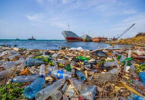 rác thải nhựa trong khai thác hải sản