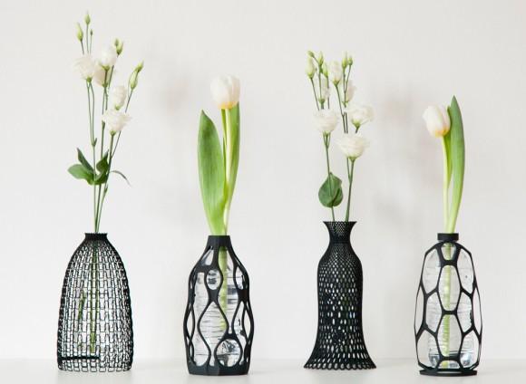 lọ hoa từ chai nhựa